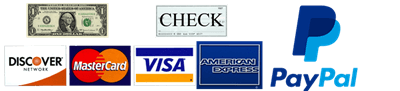 Payment Methods Cash Check Credit Card Paypal 400x91